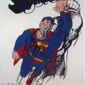 Superman Trial Proof by Andy Warhol