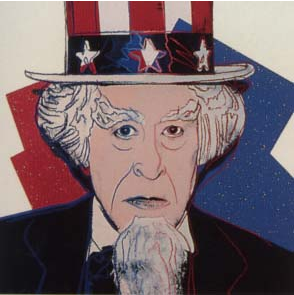 Uncle Sam Trial Proof by Andy Warhol