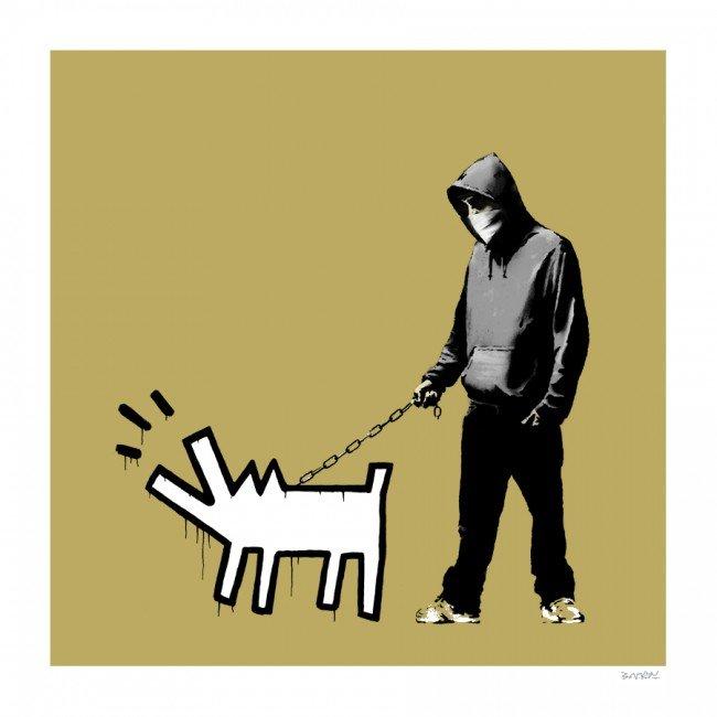 Choose Your Weapon (Khaki) by Banksy