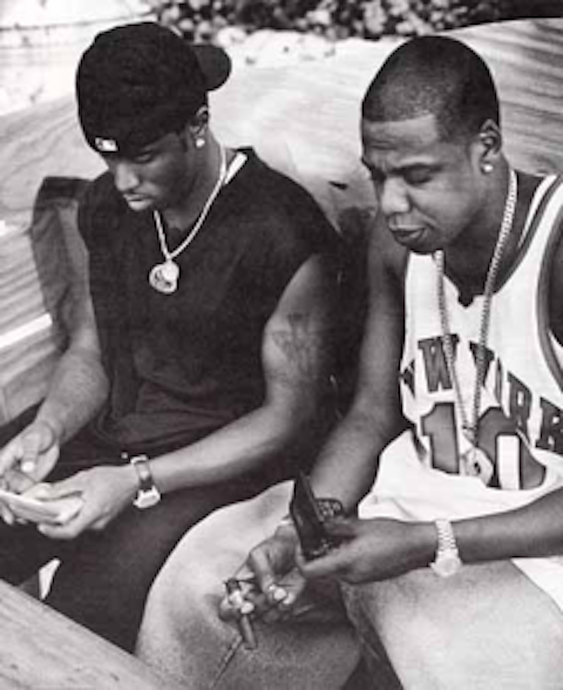 Sean Combs, Jay-Z, New York, NY, 2001 by Mark Seliger