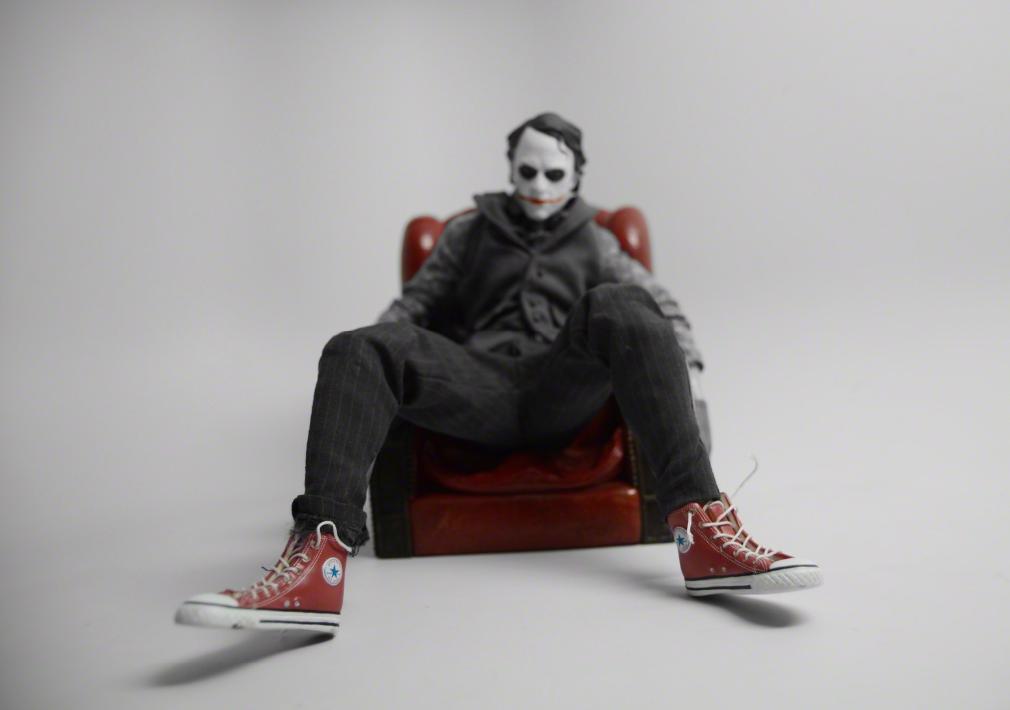 Joker Chucks by Santlov