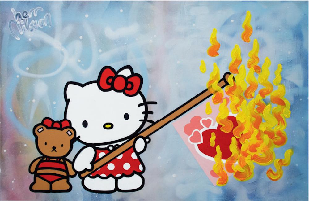 Burning Love by Herr Nilsson