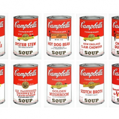 Andy Warhol Campbell's Soup Sunday B Morning