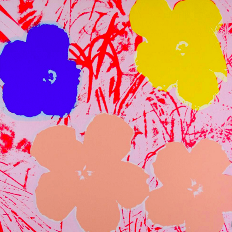 Flower 70 by Andy Warhol