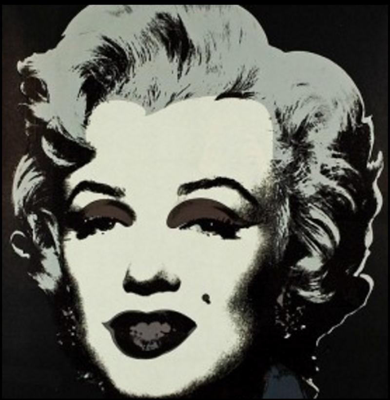 Marilyn Monroe 24 by Andy Warhol