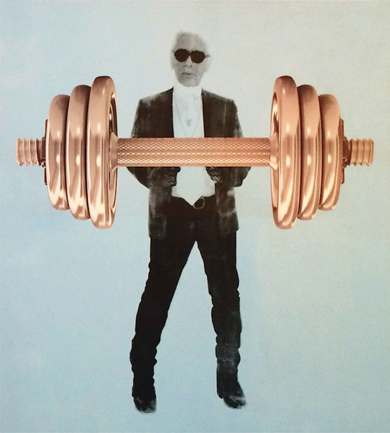 Dumbell Karl by Niclas Castello
