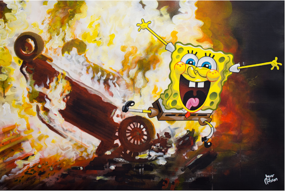Burn Spongebob by Herr Nilsson