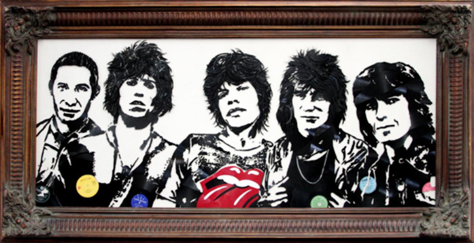 Rolling Stones by Mr. Brainwash