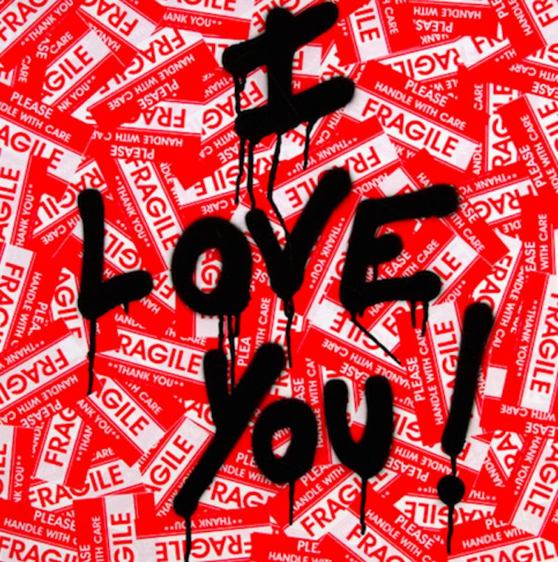 I Love You by Mr. Brainwash