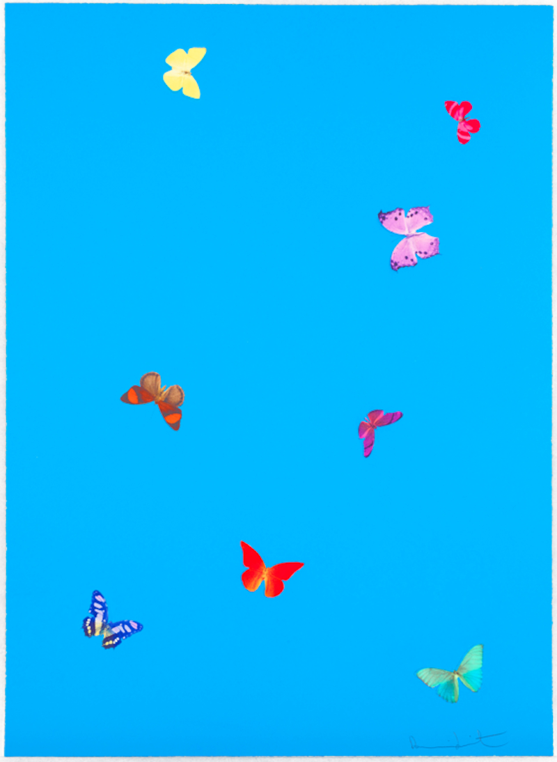 The Wonder of You Blue by Damien Hirst