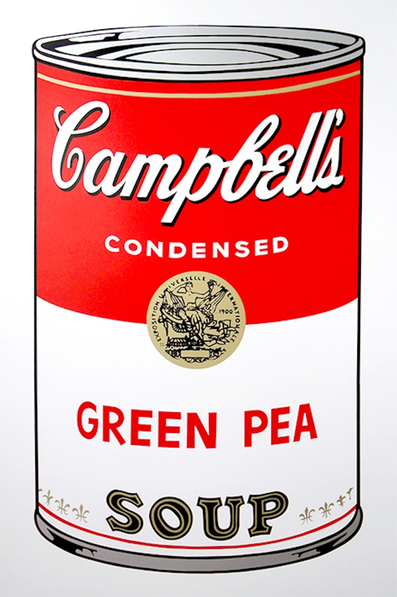 Green Pea by Andy Warhol