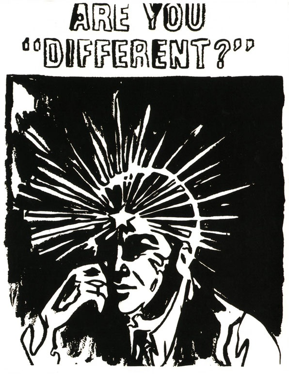 Are You Different by Andy Warhol