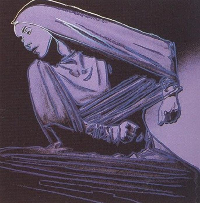 Martha Graham- Lamentation by Andy Warhol