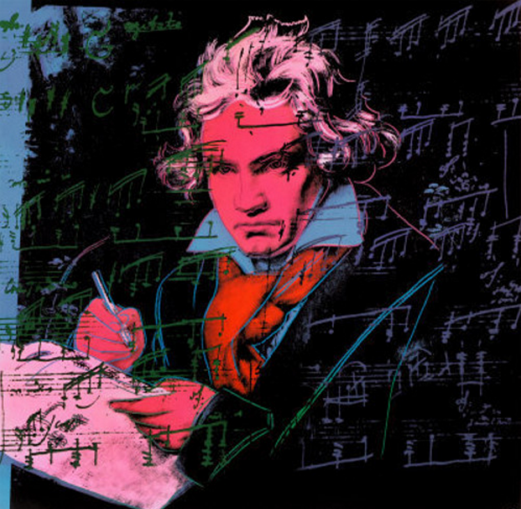 Beethoven 392 by Andy Warhol