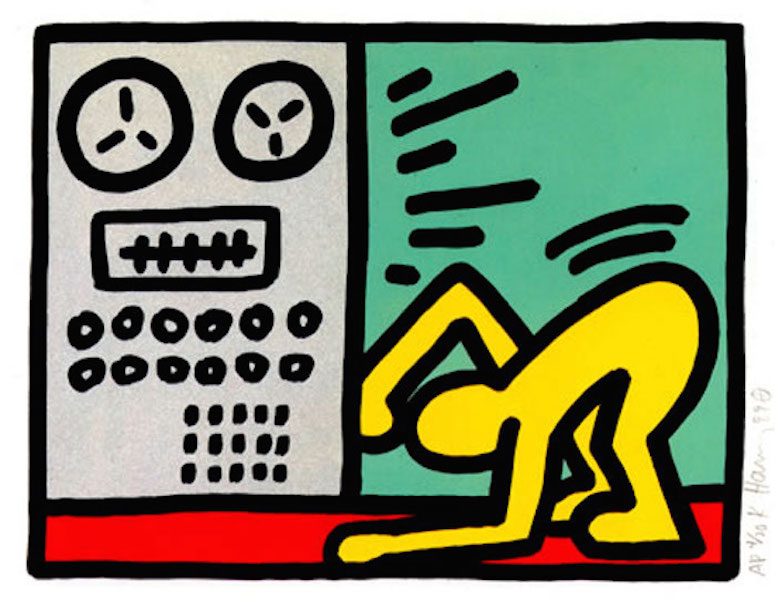 4 Pop Shop III by Keith Haring - Guy Hepner | Art Gallery | Prints for Sale  | Chelsea, New York City