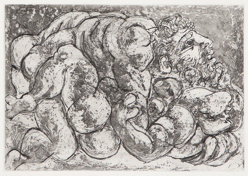Accouplement, I by Picasso