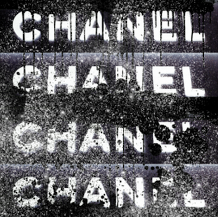 Chanel Stack Black With Diamond Dust by The Ultravelvet Collection