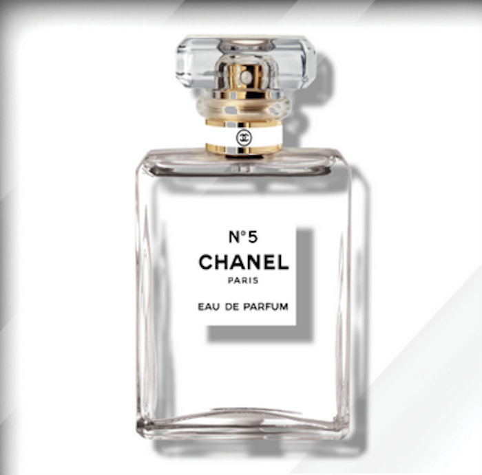 Clear Chanel No.5 by The Ultravelvet Collection
