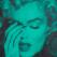 marilyn crying, bondi blue, black, russell young, urban