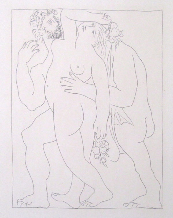 Vertumne Poursuit Pomone de son Amour by Picasso