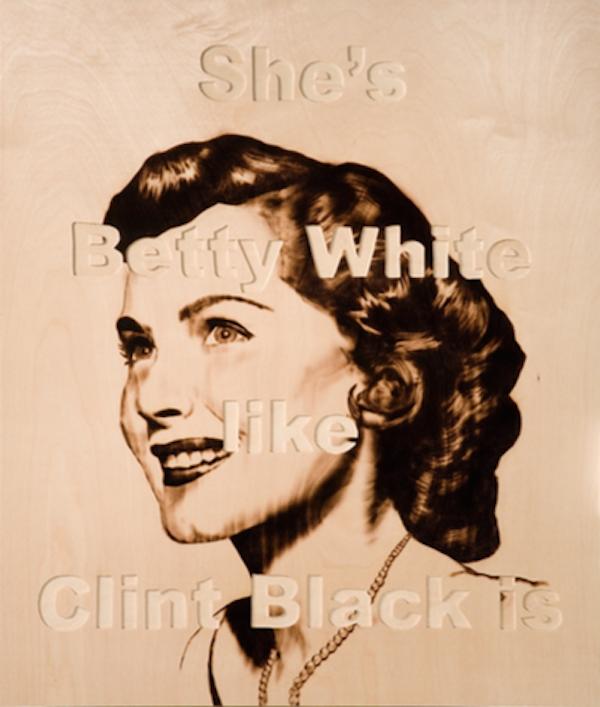 Betty White by Ryan McCann