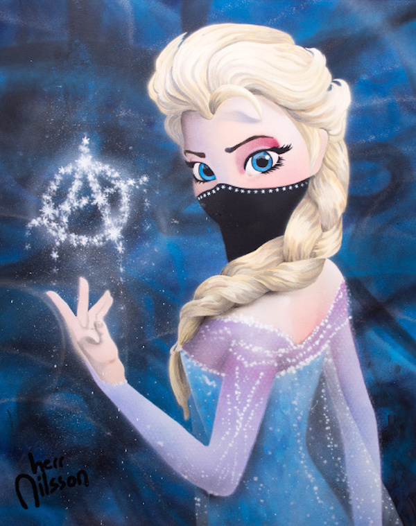 Elsa The Dark Princess by Herr Nilsson