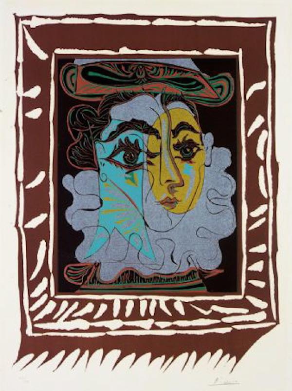La Femme au Chapeau by Picasso