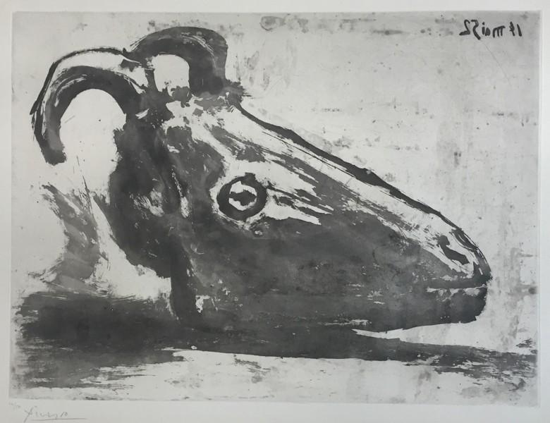 Le Crâne de Chèvre by Picasso