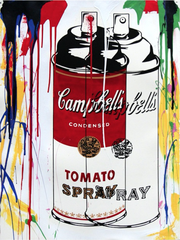 Tomato Spray Can Red by Mr. Brainwash