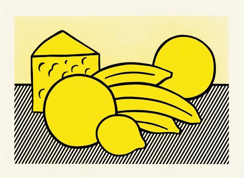 Yellow Still Life by Roy Lichtenstein