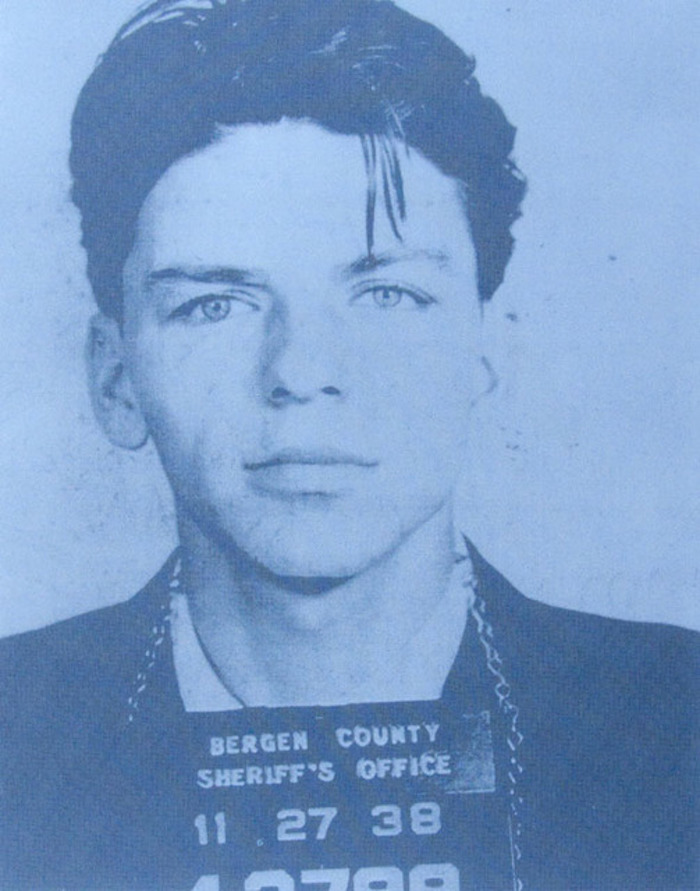 Frank Sinatra by Russell young