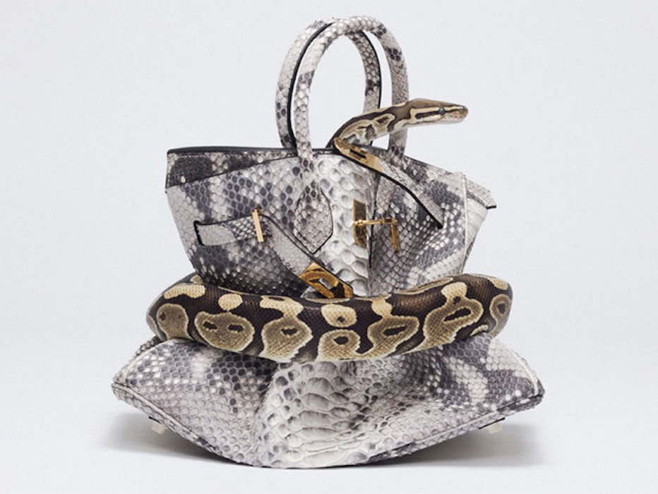 Python Birkin by Tyler Shields