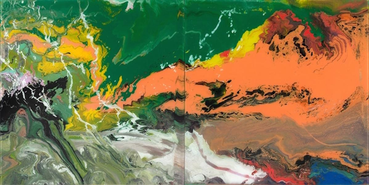 Flow P15 by Gerhard Richter