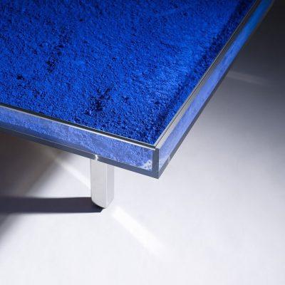 Table Blue Klein by Yves Klein Corner