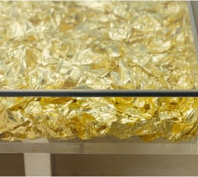 Table Monogold™ By Yves Klein Side