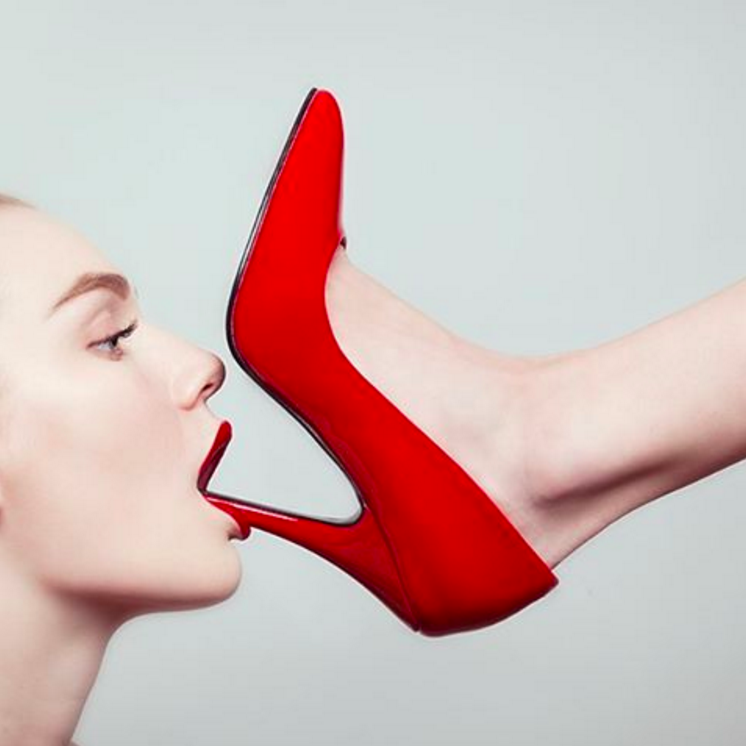 The Red Shoe by Tyler Shields