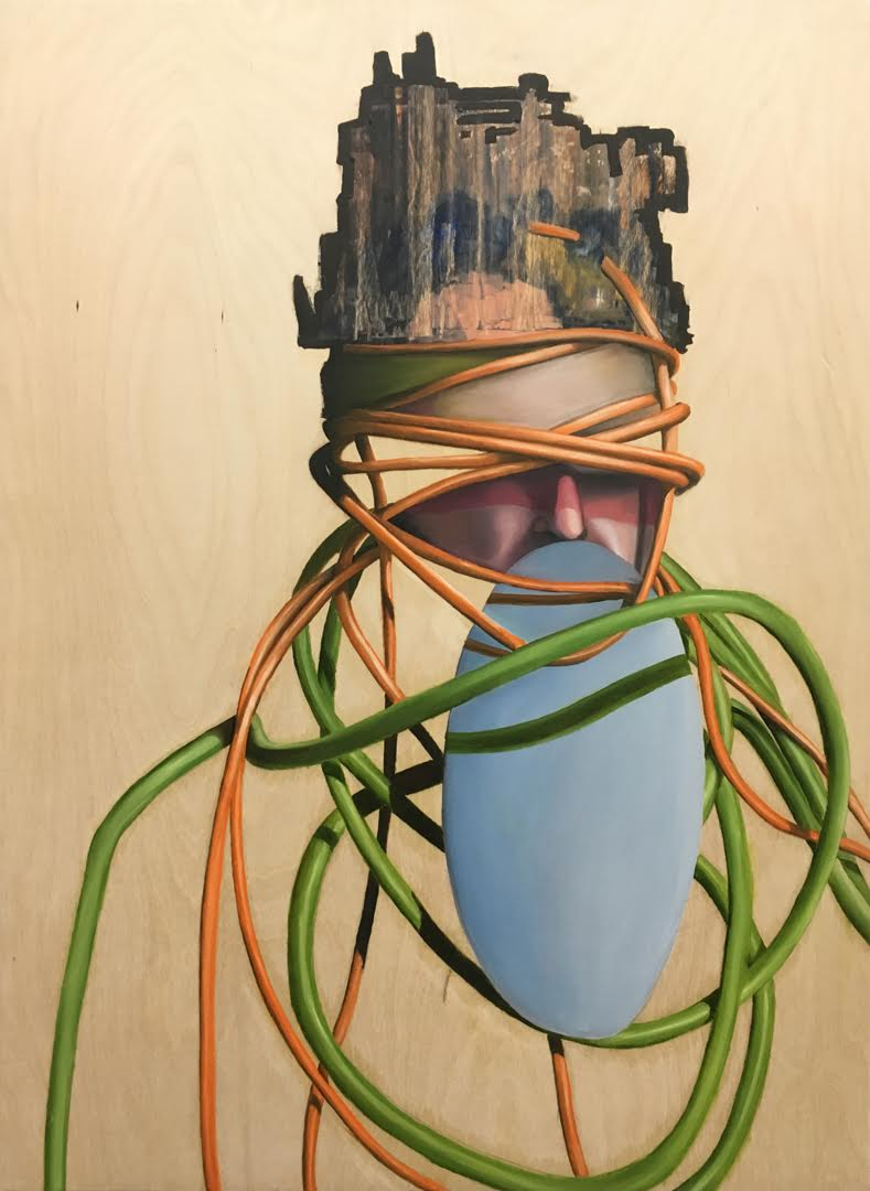 Wires Man by Ryan McCann