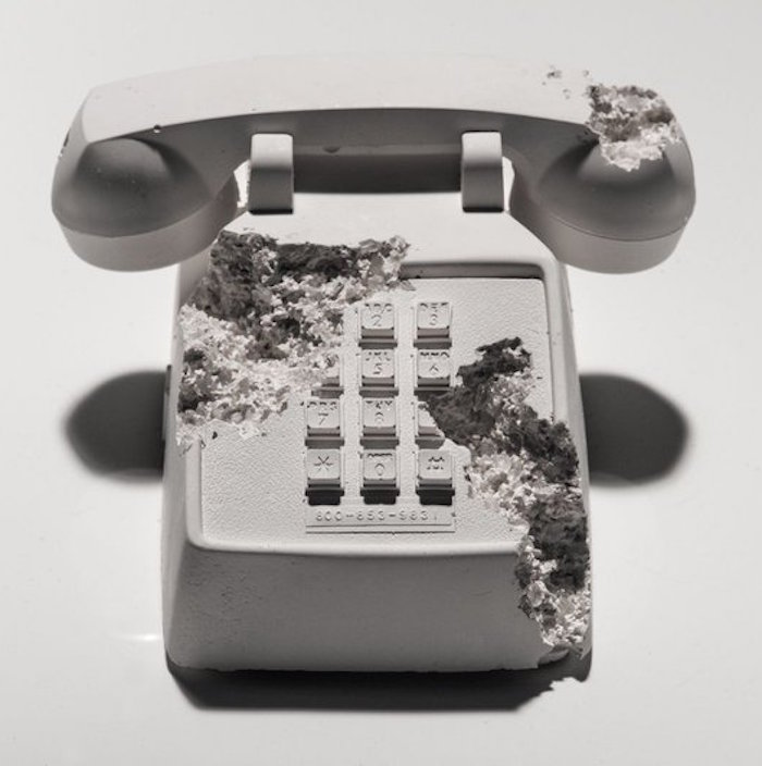 Future Relic 05 Telephone by Daniel Arsham