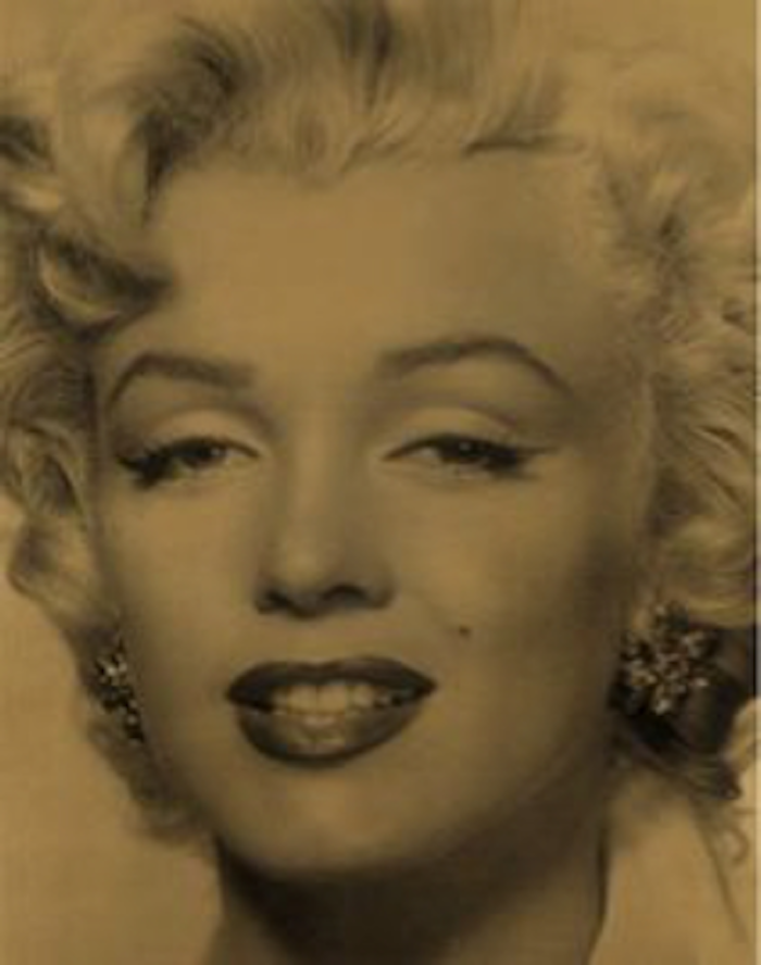 Marilyn Superstar Gold by Russell Young