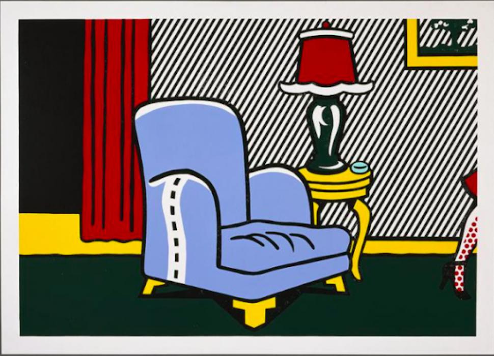 La Sortie by Roy Lichtenstein