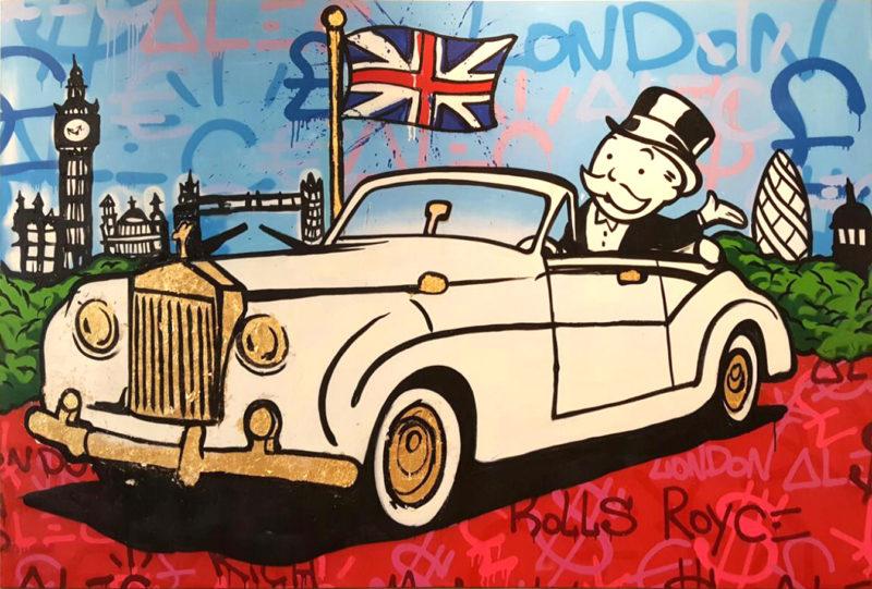 Rolls Royal Monopoly by Alec Monopoly