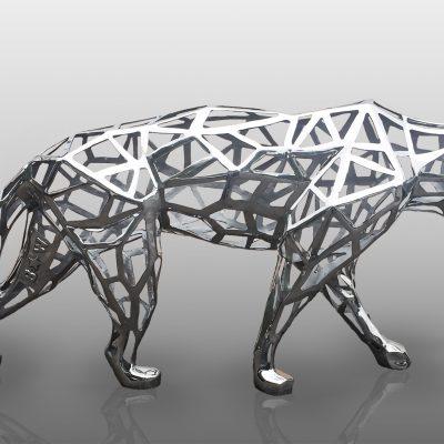 Lace Panther by Richard Orlinski