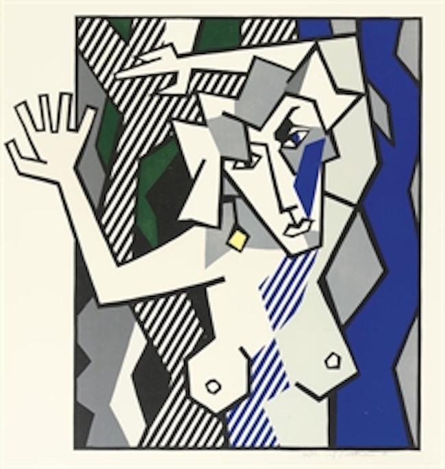Nude in the Woods by Roy Lichtenstein