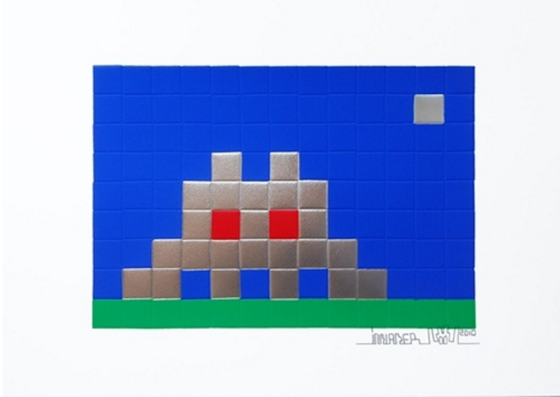 Home- Earth by Invader