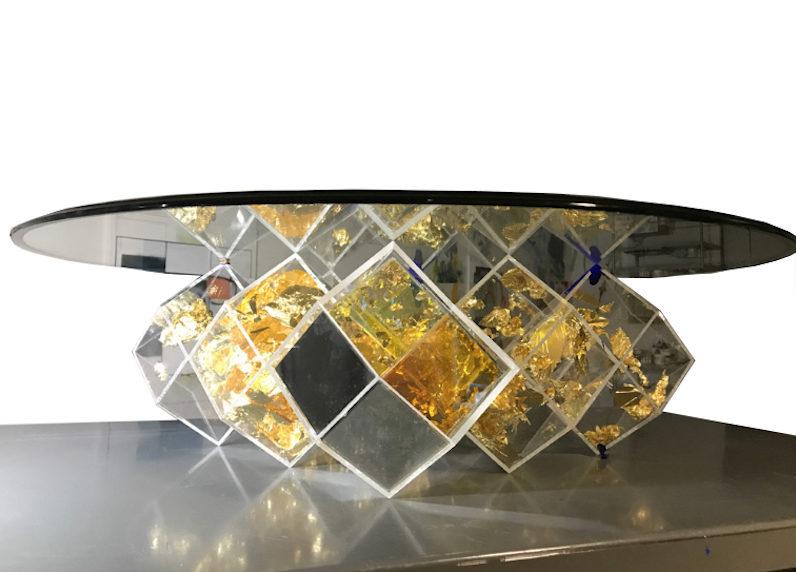 Yves Klein Bottle by John Foster