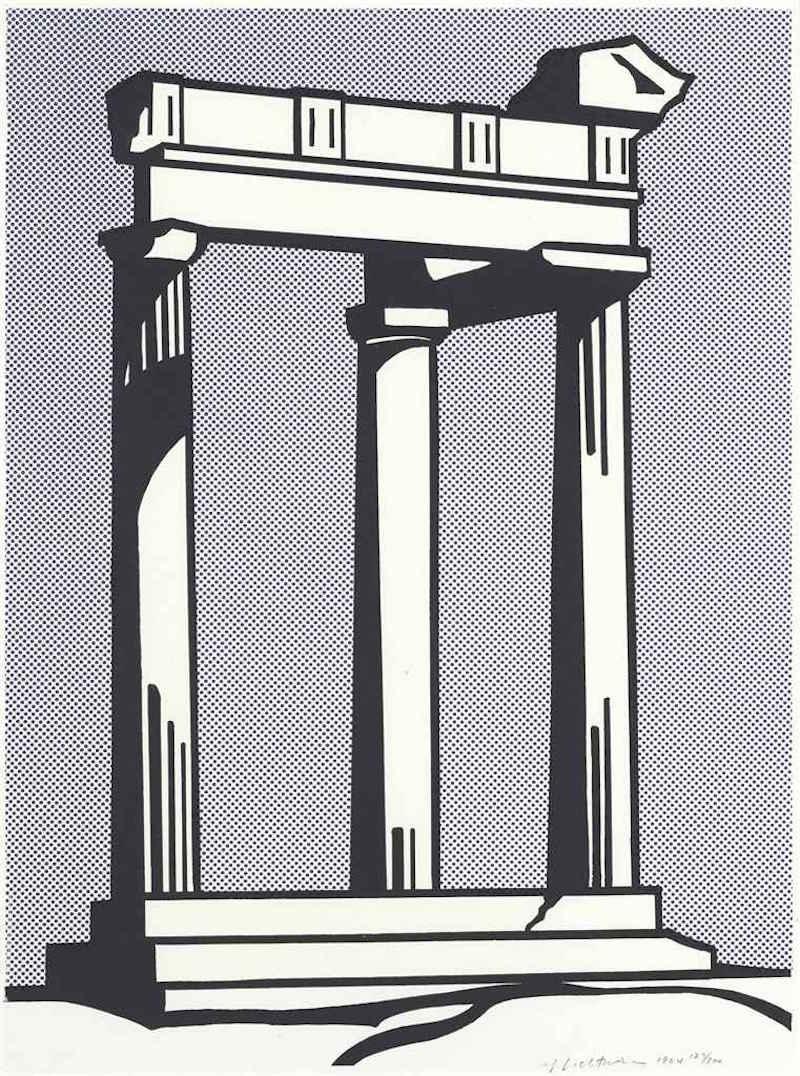 Temple by Roy Lichtenstein