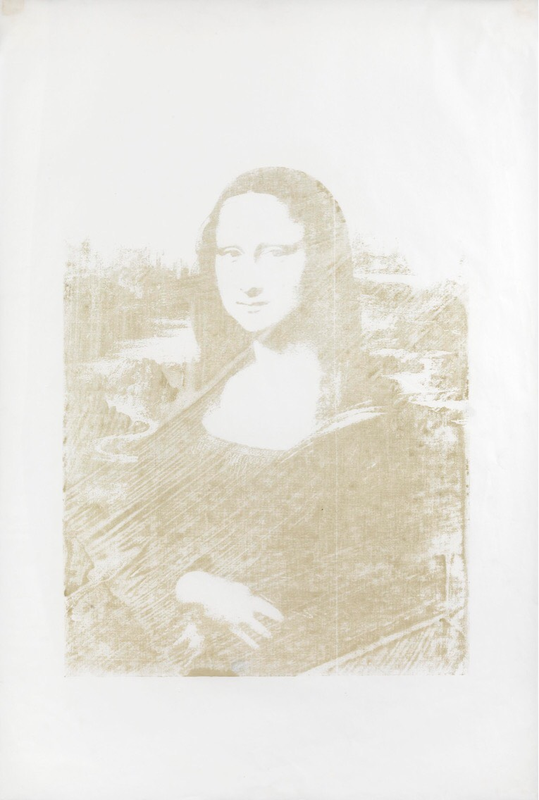 Mona Lisa by Andy Warhol