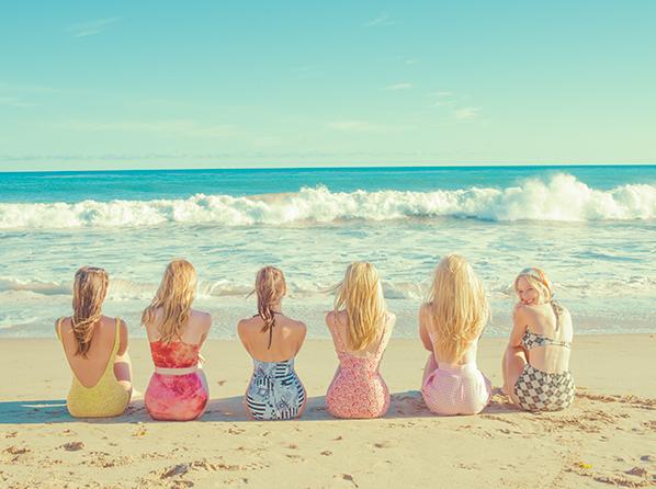 Beach Girls by Tyler Shields