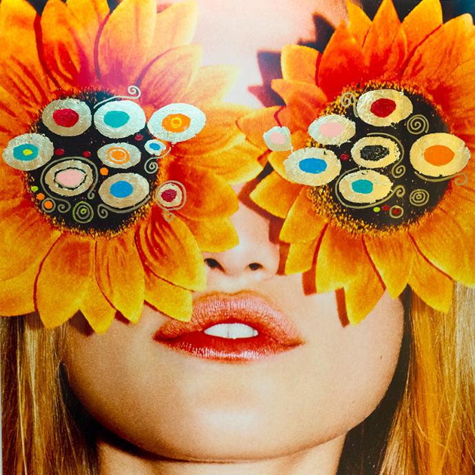 Sunflower Eyes by Chris Heads
