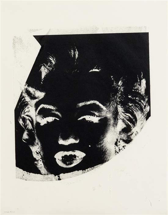 Marilyn Monroe (Unique) by Andy Warhol